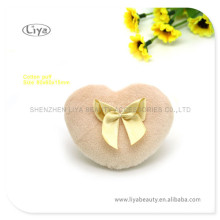 Fashionable Design Cosmetic Sponge Puff With Gold Bowknot