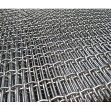 Malla de alambre prensado resistente, malla de pantalla vibrante de 65mn