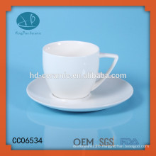 ceramic white coffee cup with saucer,custom ceramic tea cup and saucer,Ceramic Mugs with Coasters