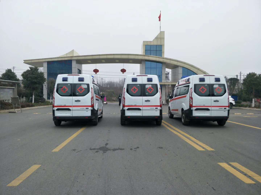 ford monitoring ambulance manufacturer