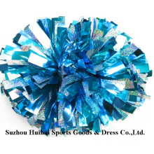 2017 Holo Light Blue Mix Silver POM Poms