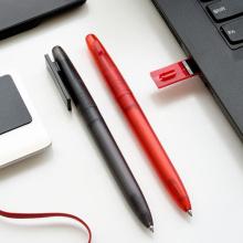 Pen drive USB de caneta esferográfica colorida e fofa