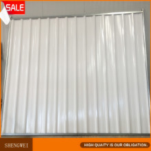 Super-qualidade Colorbond Solid Steel Temporary Hoarding Fencing Panels