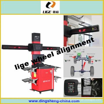 3D roda alinhamento fábrica automotiva medida equipamento Lige Ds-9