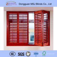 Недорогие деревянные окна плантации жалюзи сделано в Китае