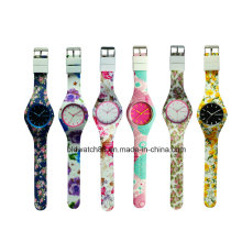 Hot Sale 2017 Kids Watch Analog Silicone Watches with Japan Movement