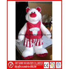 Personalización de juguetes de peluche de mascota para el club, equipo de baloncesto, equipo Footable