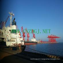 Flottante grue travaux près de Dock pour la nécessité de la Construction