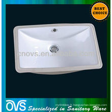 A8610 OVS sanitaires lavabo en céramique sous le bassin de montage