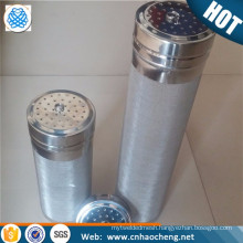 300 micron stainless corny keg dry hop filter for cornelius kegs