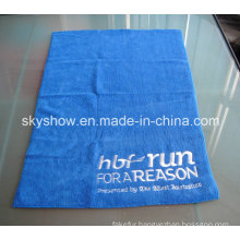 Microfiber Embroidered Face Towel (SST0293)