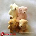Kundengebundene Soem-Entwurfsweihnachtsgeschenk-preiswerte Spielwaren Minit-Teddybären