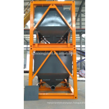 mobile cement silo for export horizontal type stackable