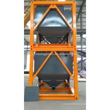 Silo de cimento móvel para exportação tipo horizontal empilhável