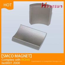 N42 постоянный магнит неодимовый Ndfeb сегмента форма образца