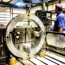 Gran engranaje de precisión y engranaje helicoidal