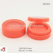 SF099 Bunte runde Sahnebehälter Plastikrundkarton, runder Plastikbehälter