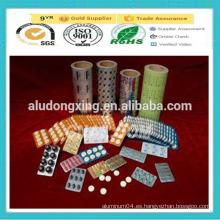 8011 H18 Lámina de aluminio farmacéutica