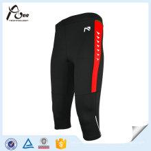 Быстрые сухие колготки Mens 3/4 Shorts Running Wear