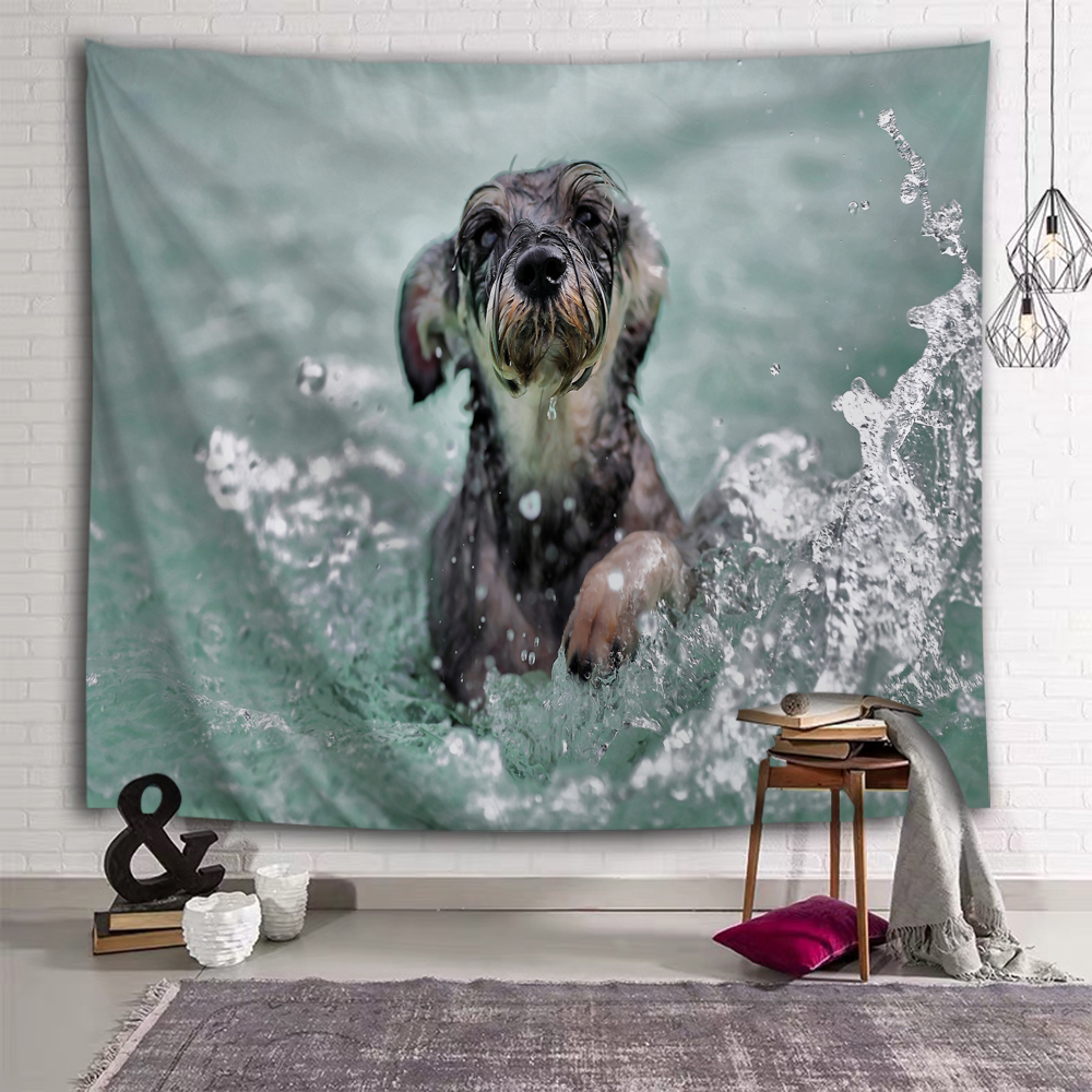 Dog In Water 1
