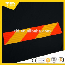 Yellow Red Reflective Rear marking plates