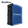 Commutateur réseau Din-Rail Commutateur Ethernet Gigabit 5 ports