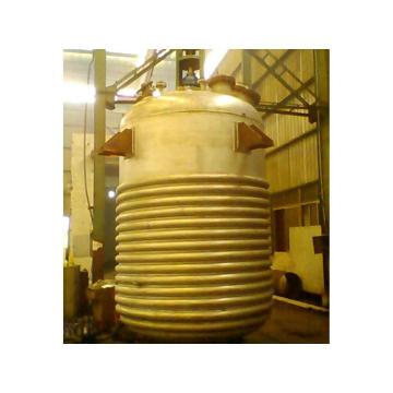 Heat transfer oil reactor