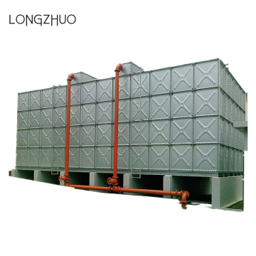 Fire Fighting Hot-dip Galvanized Steel Water Storage Tank