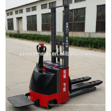 China Lieferant elektrischer Palettenstapler, elektrischer Gabelstapler mit hoher Qualität