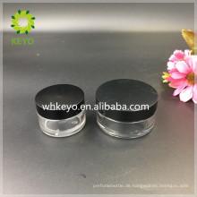 20g Bester verkaufter klarer farbiger leerer kosmetischer Plastikglas