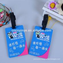 Wholesale Soft pvc luggage tag strap