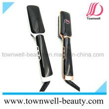 LCD Salon Outils de coiffage Céramique Brosse à fer plat Professionnel