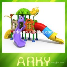 2015 Neu kommen im Freien Spiel-Sets Kinder Plastik-Folie Ausrüstung Garten Spielplatz Park Rutsche