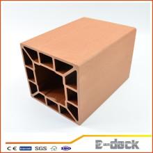 Wpc hueco de la protección del medio ambiente material columna wpc pilar columna wpc