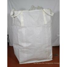 White Fabric PP FIBC Big Woven Bag