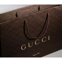 Wholesale Fancy Kraft Paper Foldable Shopping Bag