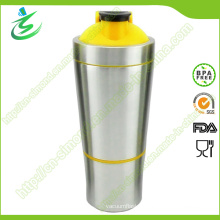 700ml BPA-Free Wholesale Metal Shaker Bottles