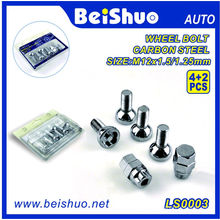 4+2PCS Torx Wheel Bolt with Chrome Surface