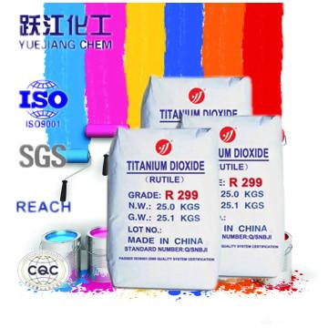 Exterior Paint Use Rutile Titanium Dioxide R299 Price