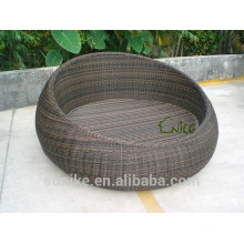 2014 hot sale latest design high quality waterproof garden rattan cheap large dog cage