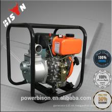 Bison China Zhejiang Nuevo Diseño Confiable 2 '' 2inches Plunger Bomba De Acero Inoxidable Tipos Eléctricos De Bomba De Agua Del Motor Diesel