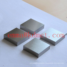 High Purity Ground Tungsten Plate/Sheet