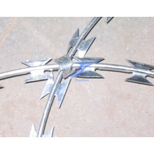 Sharp Galvanized Razor Barbed Wire (Factory)