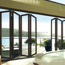 China Feelingtop Good Quality Luxury Aluminum Bi-Folding Door (FT-D75)
