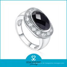 Stylischer Silber Ring mit großem Stein für Frau (SH-R0526)