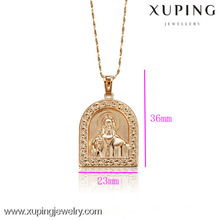 C201051-32079-Xuping Colgante de joyería de oro de diseño simple