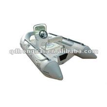 barco de fibra de vidrio casco costilla HH-RIB390 con CE