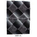 Polyester Soft and Silk Shaggy 3D & 4D Rug