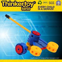 Plastic Educational Puzzle Cannon Toy for Children Building Blocks