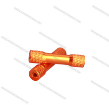 2017 Hot high accuracy aluminum textured round Step Spacer